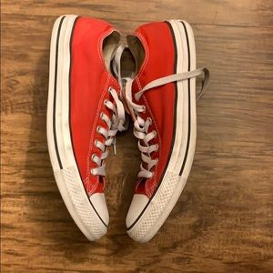 Converse Shoes - Converse. Red. W 11/M9. Used.